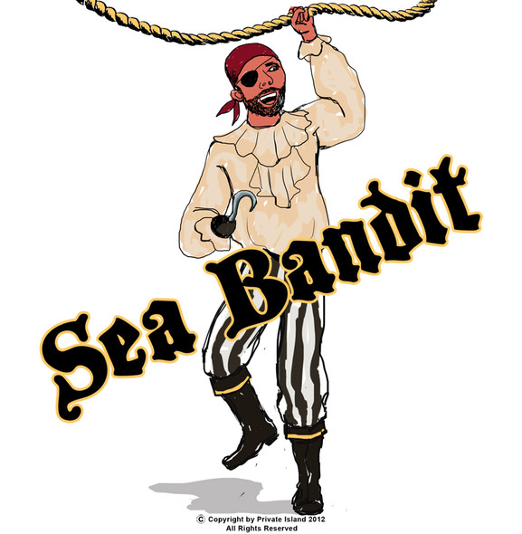 Sea Bandit Pirate Costume 4408