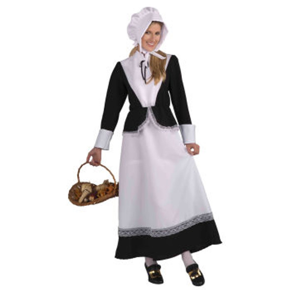 Pilgrim Woman Costume 4117