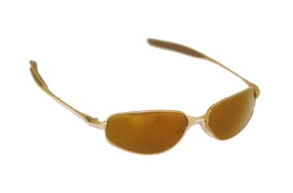 Sports Sunglasses Fishing Gold Half Frame/Gold Lens 1125