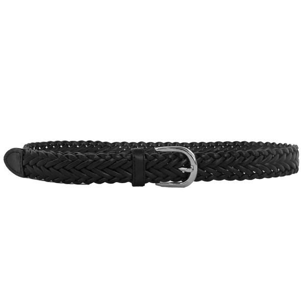 Hand Braided Belts Black 12 PACK 2300-2303