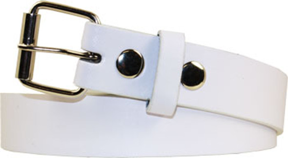 Child Buckleless Belt |  White with Detachable Buckle 12 PACK 2915