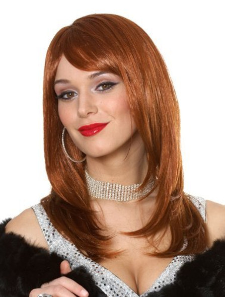 Red Sharon Wig 6053