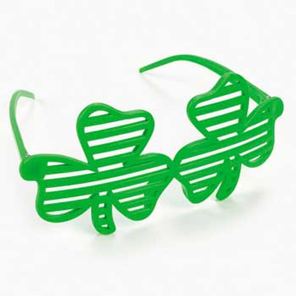 Irish Shamrock Green Shutter Shades | 12 PACK 7111