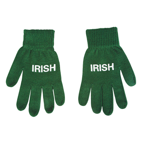 St. Patricks Green Magic Gloves 12 PACK 5202