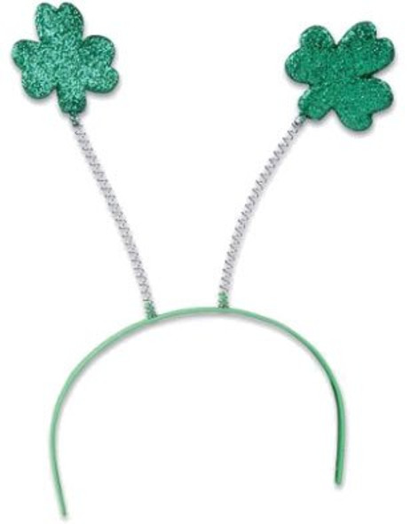 St. Patricks Day Green Shamrock Head Bopper 1872
