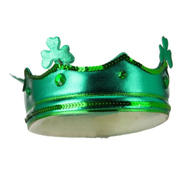 12 PACK St. Patricks Day Green Shamrock Drunken Crown 1835