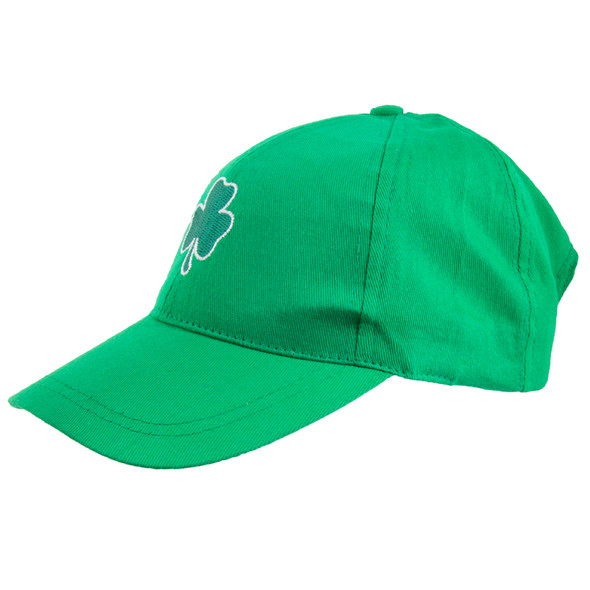 St. Patricks Day Shamrock Green Baseball Cap 5959
