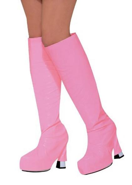 60's Mod Pink Go Go Boot Tops 8587