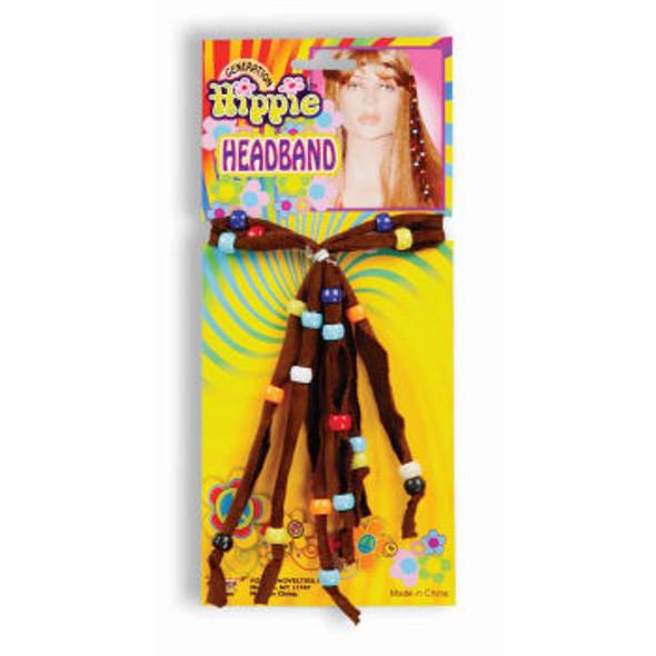 60's Deluxe Hippie Headband 6689
