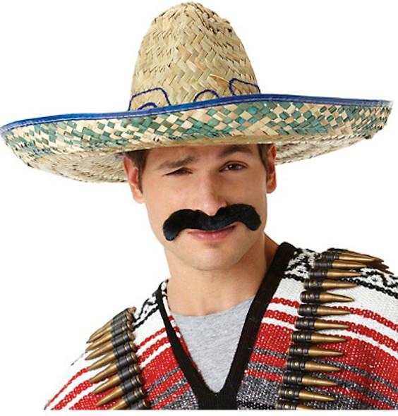 Mexican Pancho Costume Villa Mustache 9040