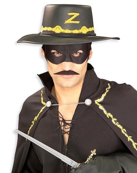 Zorro Costume Mustache 9037
