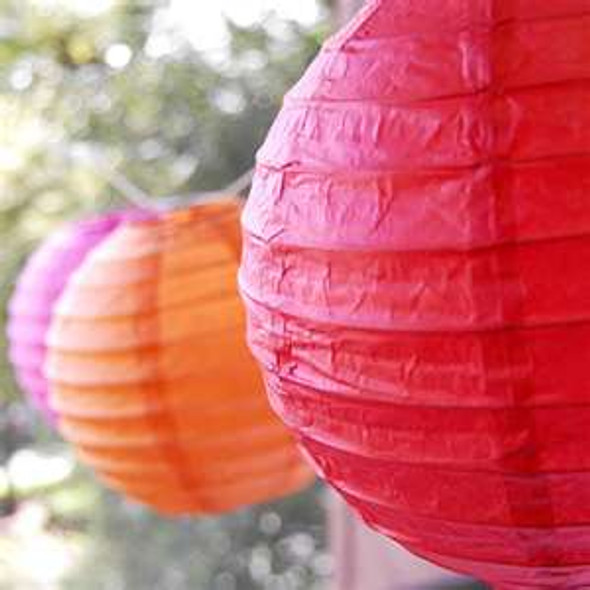(6) Fiesta Cinco De Mayo Paper Lantern Decorations 9055
