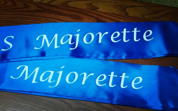 Royal Blue Party Sashes
