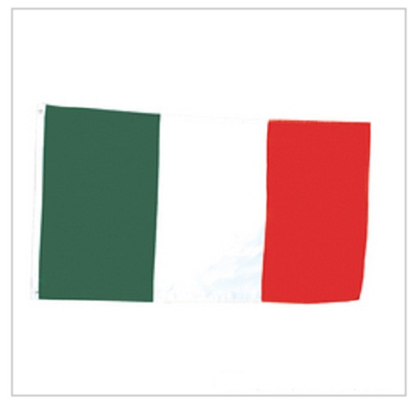 Italian Pride Polyester Flags 3' X 5' FT 9083