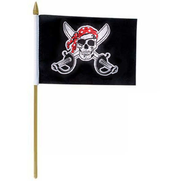 "Pirate Crossbones Flags 12 x18 "" 9073"