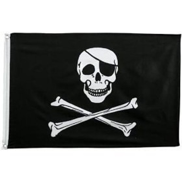 12 PACK Wholesale Pirate Flags 3' X 5' FT 9099