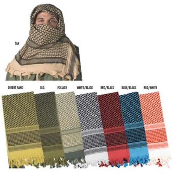 Foliage  Army Green Military Tactical Desert Scarf 2164
