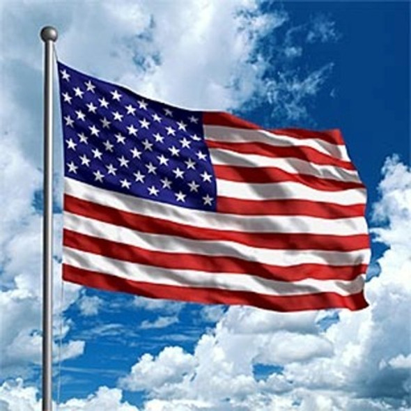 12 PACK USA Flags Bulk 3' X 5' FT RIPSTOP POLYESTER 9100