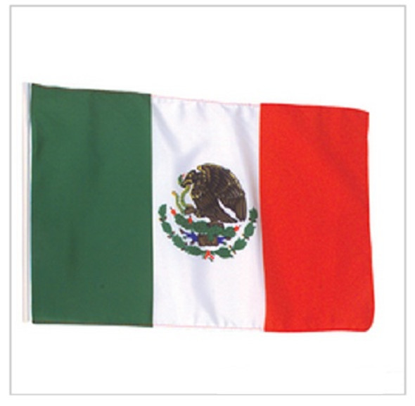 Mexican Flags 12 PACK  3' X 5' FT 9094