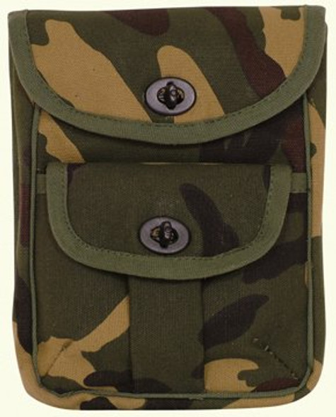 2 Pocket Ammo Pouch Wallet Camouflage 3351