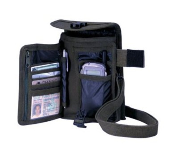 Venturer Travel Portfolio Bag Black 3355
