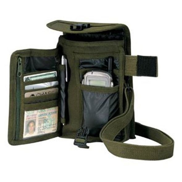 Venturer Travel Portfolio Bag Olive Drab 3356