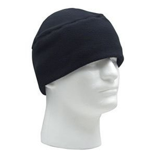 Polar Fleece Watch Cap Black 5823