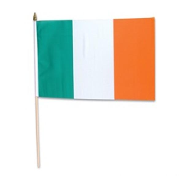 """St. Patricks Day Irish Pride Flags 12""""12 PACK  9071"""