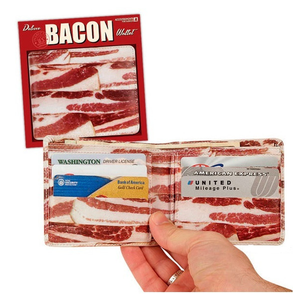 Bacon Wallet 12 PACK 3201
