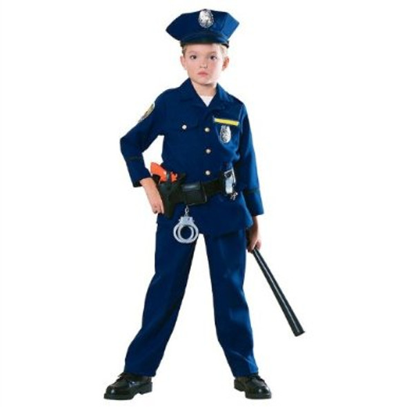 Child Police Officer Costume 4600
