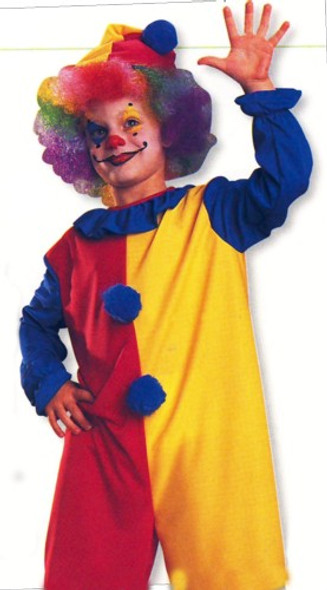 Kids Clown Costume Kit with Free Clown Nose 4632