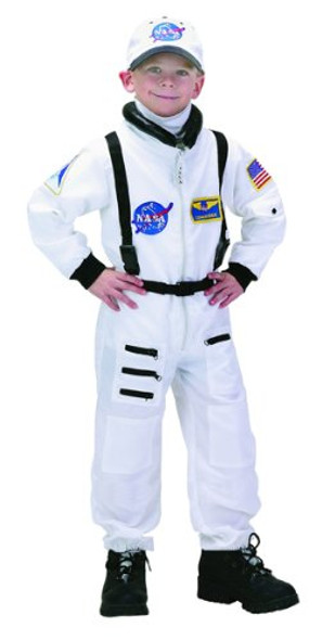 NASA Jr. Astronaut Suit/Child Costume 4638