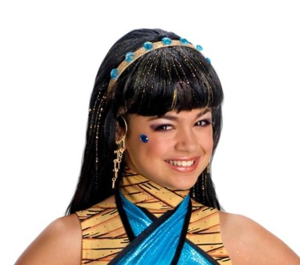 Monster High Cleo de Nile Costume Girls Wig 6065