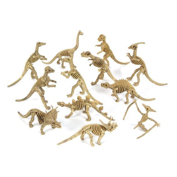 "Large Dinosaur Skeleton Fossils 5-6"" 9128"