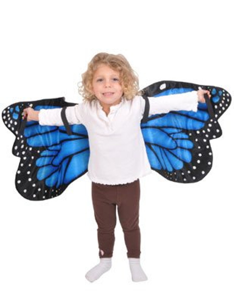 Blue Morpho Butterfly Plush Costume Wings 1896