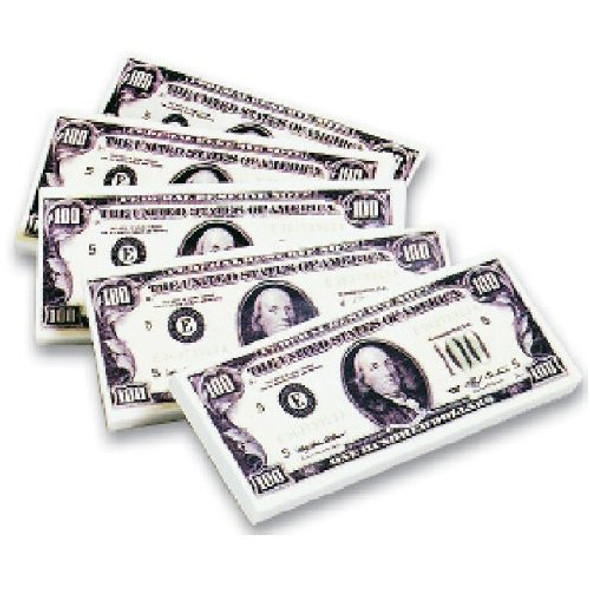 100 Dollar Bill Erasers 10110