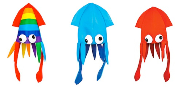 Squid Hat 5938