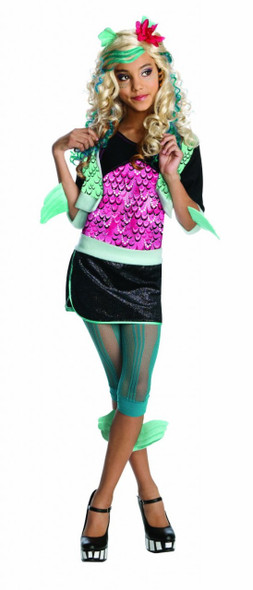 Monster High Lagoona Blue Costume 4703S-4703L