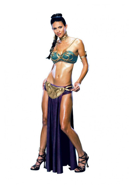 Star Wars Princess Leia Slave Costume 4706XS - 4706L