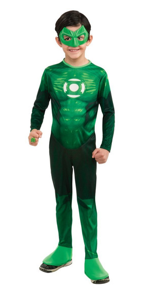 Green Lantern Hal Jordan Child Costume 4707S-4707L