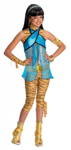 Monster High Cleo de Nile Child Costume 4708S-4708L