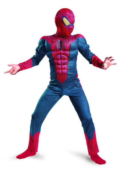 Spiderman Muscle Costume Adult 4531