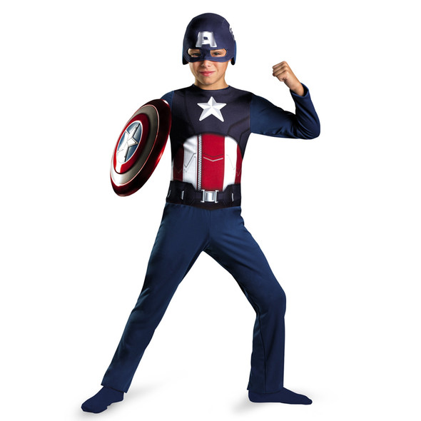 Avengers Captain America Child Costume 4711S-4711M