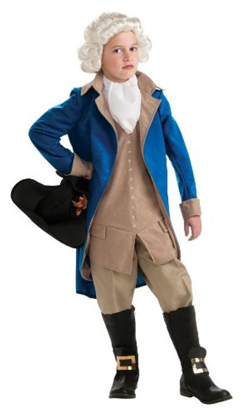 Child George Washington Costume 4713S-4713L