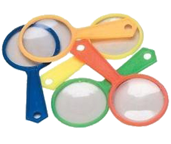 Colorful Magnifying Glasses 12 PACK 1764