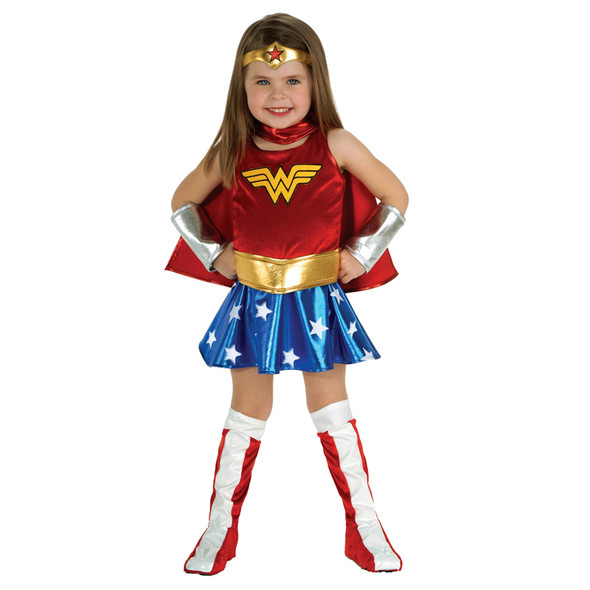 DC Comics Wonder Woman Child Costume 4717S-4717L