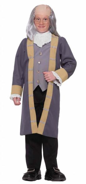 Boys Classic Ben Franklin Costume Small 4718S