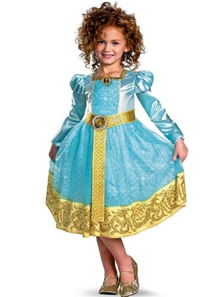 Disney Brave Merida Deluxe Child Costume 4720T-4720S