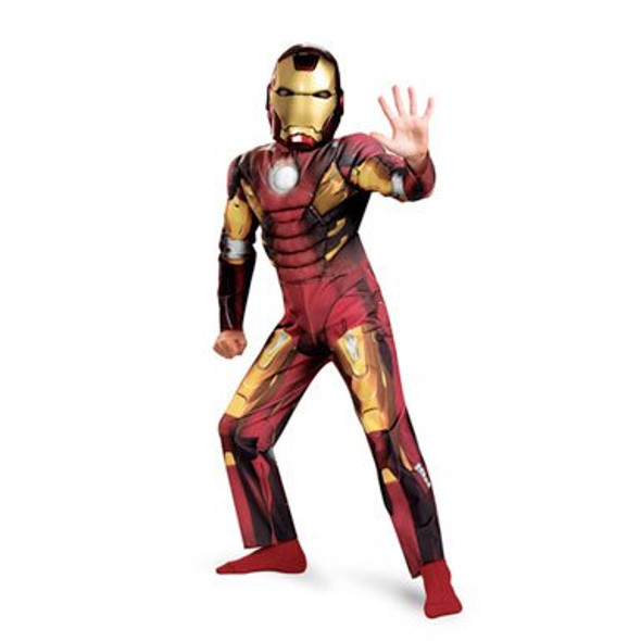 Iron Man Mark VII Classic Muscle Chest Child Costume 4721XS-4721M