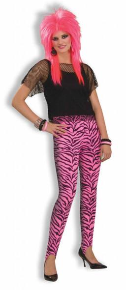 80's Pink Zebra Costume Pants 8584